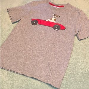 Puppy and car shirt